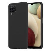 ShieldCase® Silicone case Samsung Galaxy A12 (zwart)