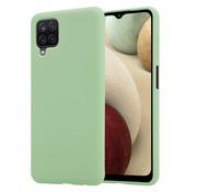 ShieldCase® Silicone case Samsung Galaxy A12 (lichtgroen)