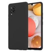 ShieldCase® Silicone case Samsung Galaxy A42 5G (zwart)