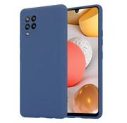 ShieldCase® Silicone case Samsung Galaxy A42 5G (blauw)