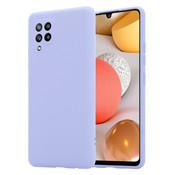 ShieldCase® Silicone case Samsung Galaxy A42 5G (lichtpaars)