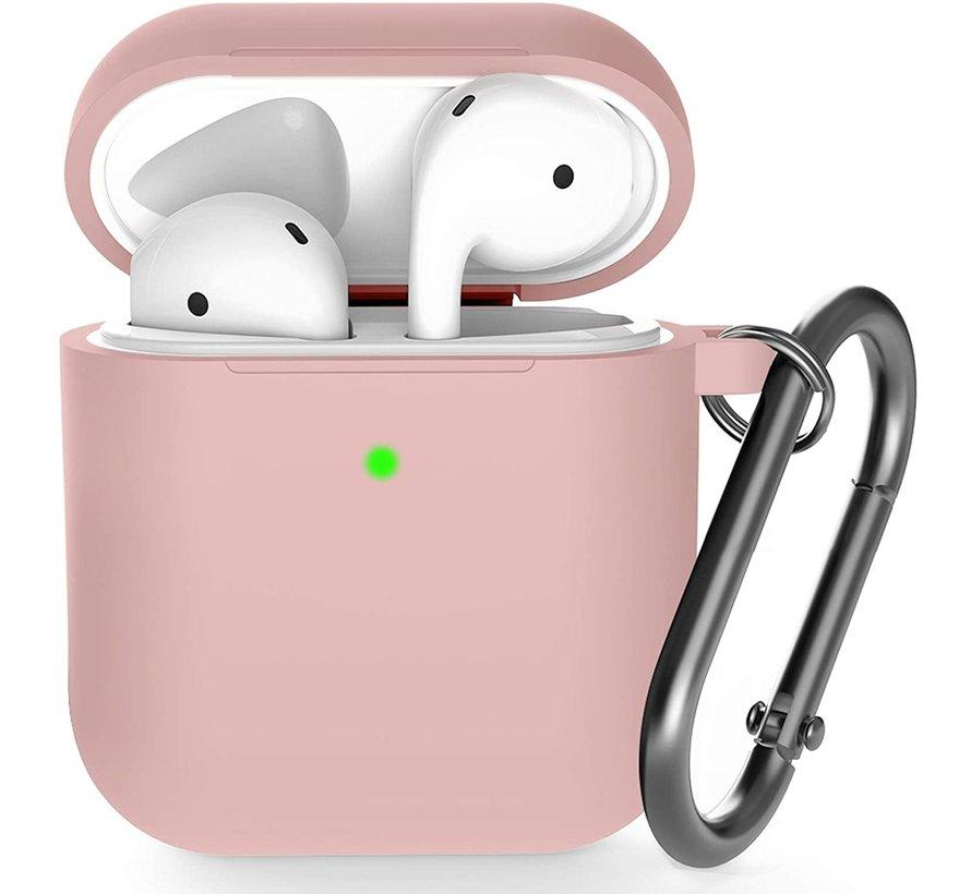 Shieldcase Apple Airpods silicone case (licht roze)