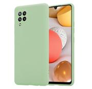 ShieldCase® Silicone case Samsung Galaxy A42 5G (lichtgroen)