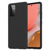 ShieldCase® Silicone case Samsung Galaxy A72 (zwart)