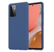 ShieldCase® Silicone case Samsung Galaxy A72 (blauw)