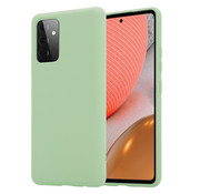 ShieldCase® Silicone case Samsung Galaxy A72 (lichtgroen)