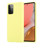 ShieldCase® Silicone case Samsung Galaxy A72 (geel)