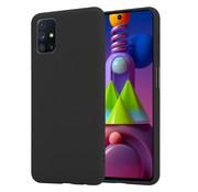 ShieldCase® Silicone case Samsung Galaxy M51 (zwart)