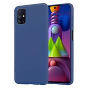 ShieldCase® Silicone case Samsung Galaxy M51 (blauw)
