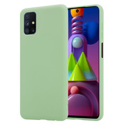 ShieldCase® Silicone case Samsung Galaxy M51 (lichtgroen)