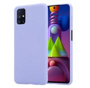 ShieldCase® Silicone case Samsung Galaxy M51 (lichtpaars)