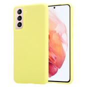 ShieldCase® Samsung Galaxy S21 silicone case (geel)