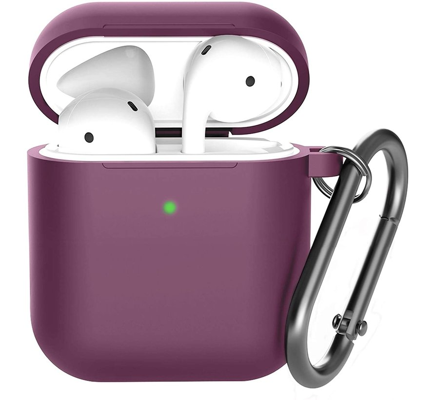 Shieldcase Apple Airpods silicone case (burgundy)