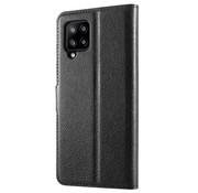 ShieldCase® Samsung Galaxy A42 5G wallet bookcase (zwart)