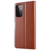 ShieldCase® Samsung Galaxy A72 wallet bookcase (bruin)