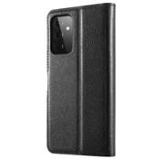 ShieldCase® Samsung Galaxy A72 wallet bookcase (zwart)