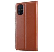ShieldCase® Samsung Galaxy M51 wallet bookcase (bruin)