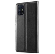 ShieldCase® Samsung Galaxy M51 wallet bookcase (zwart)