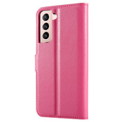 ShieldCase® Samsung Galaxy S21 wallet bookcase (roze)