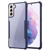 ShieldCase® Samsung Galaxy S21 Plus bumper case (blauw)