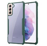 ShieldCase® Samsung Galaxy S21 Plus bumper case (groen)