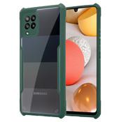 ShieldCase® Samsung Galaxy A42 bumper case (groen)