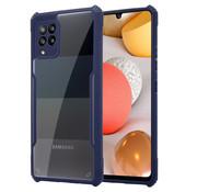 ShieldCase® Samsung Galaxy A42 bumper case (blauw)