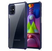 ShieldCase® Samsung Galaxy M51 shock case met gekleurde bumpers (blauw)