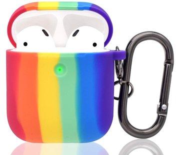 ShieldCase® Rainbow Apple Airpods case (multicolor)