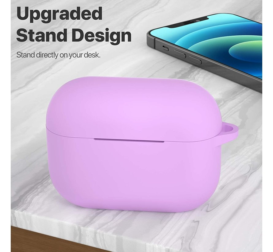 Shieldcase Airpods Pro silicone case (lichtpaars)