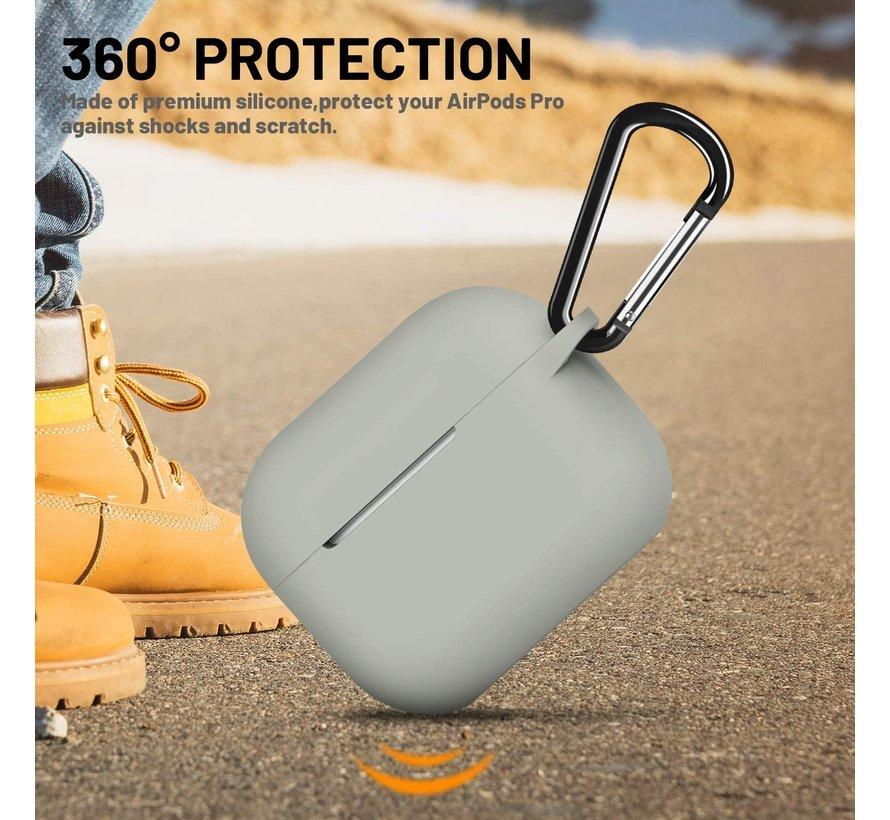 Shieldcase Airpods Pro silicone case (grijs)