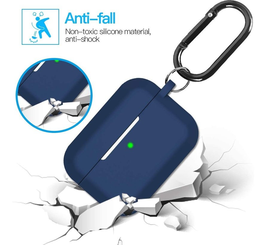 Shieldcase Airpods Pro silicone case (donkerblauw)
