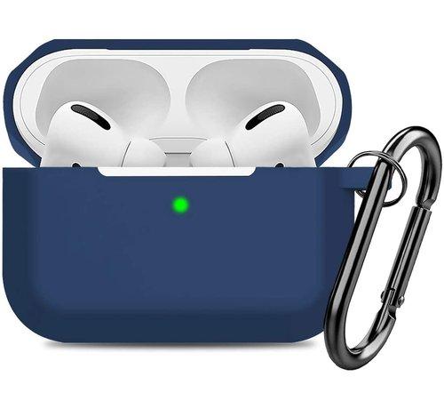 ShieldCase® Shieldcase Airpods Pro silicone case (donkerblauw)