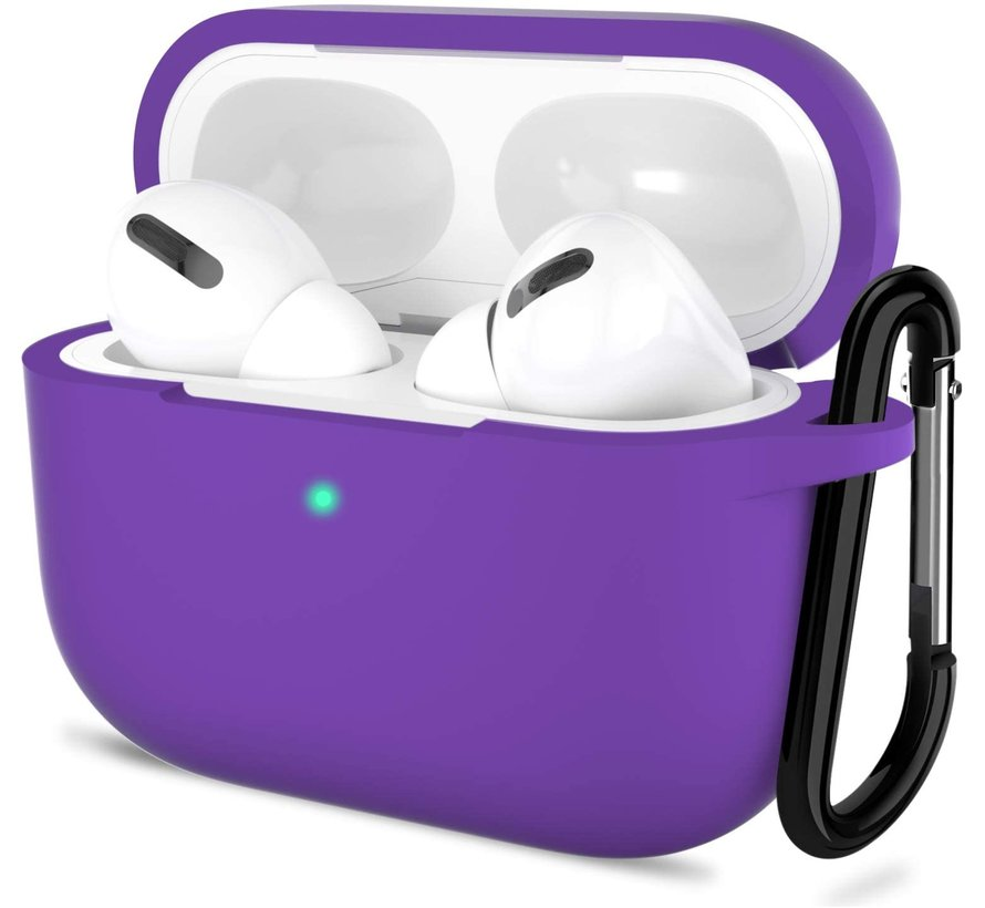 Shieldcase Airpods Pro silicone case (paars)