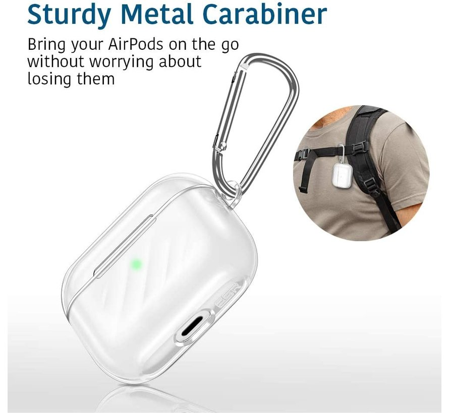 Shieldcase Airpods Pro silicone case (transparant)