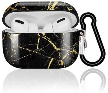 ShieldCase® Amazing Black Marmer Airpods Pro Case (zwart)