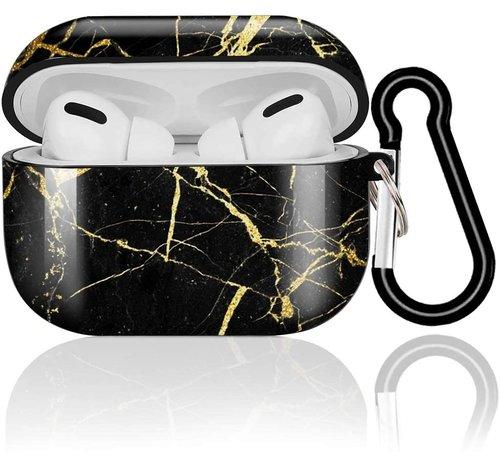 ShieldCase® Shieldcase Amazing Black Marmer Airpods Pro Case (zwart)
