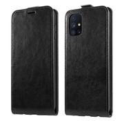 ShieldCase® Samsung Galaxy M51 Flip case (zwart leer)