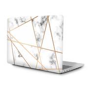 ShieldCase® Macbook Pro 15 inch 2016-2019 case (marmer patroon)