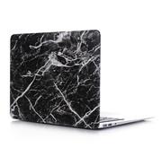 ShieldCase® Macbook Pro 15 inch 2016-2019 case (zwart marmer)