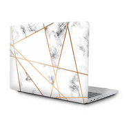 ShieldCase® Macbook Air 13 inch case 2018-2020 (marmer patroon)