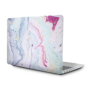 ShieldCase® Macbook Air 13 inch case 2018-2020 (galaxy patroon)