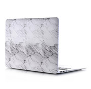 ShieldCase® Macbook Air 13 inch case 2018-2020 (wit marmer)