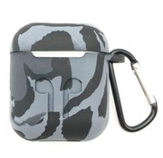 ShieldCase® Camouflage Pattern Silicone Airpods Case (grijs)