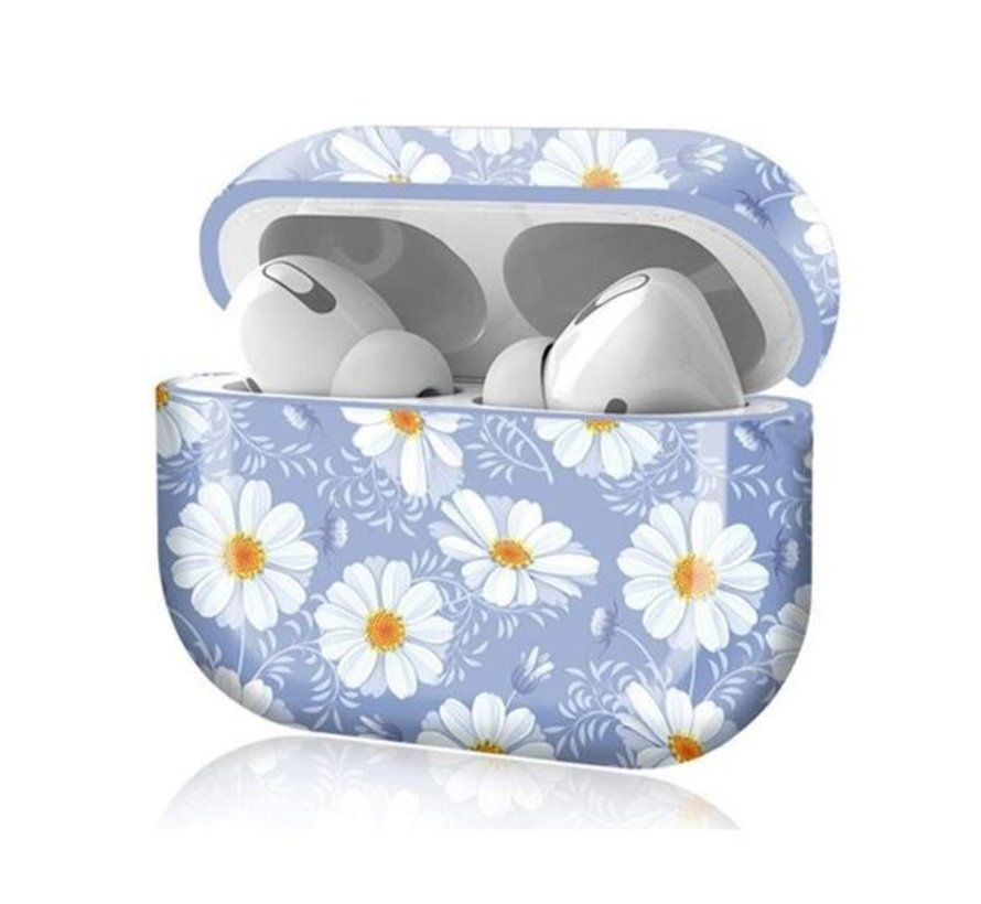 Shieldcase Bloom Beauty Apple Airpods Pro case (lichtpaars)