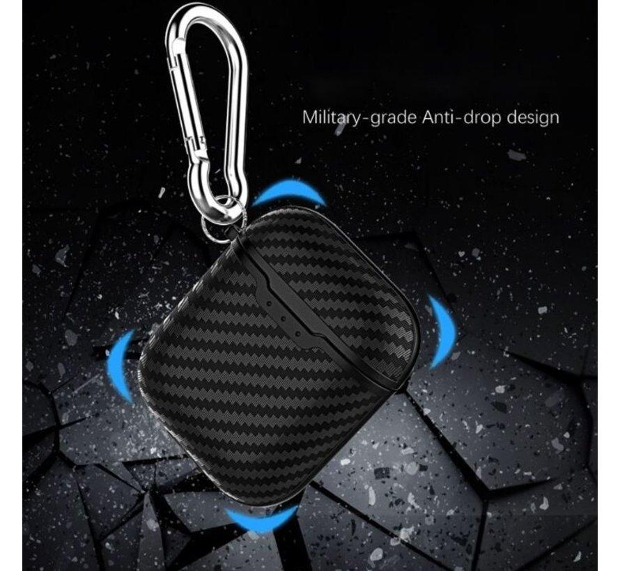 Shieldcase Black Stripe Airpods Case (zwart)