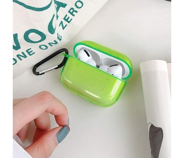 ShieldCase® Neon Vibes Apple Airpods Pro case (neon geel)