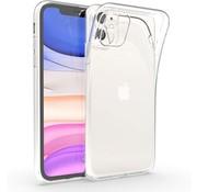 Ceezs Siliconen iPhone 11 hoesje transparant
