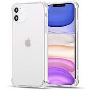 Ceezs iPhone 11 hoesje shock proof transparant
