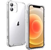 Ceezs iPhone 12 Mini hoesje schokbestendig / shockproof TPU case transparant